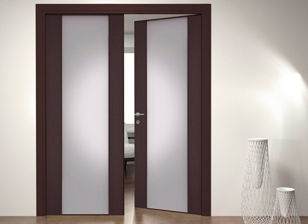 раздвижные двери в кухню