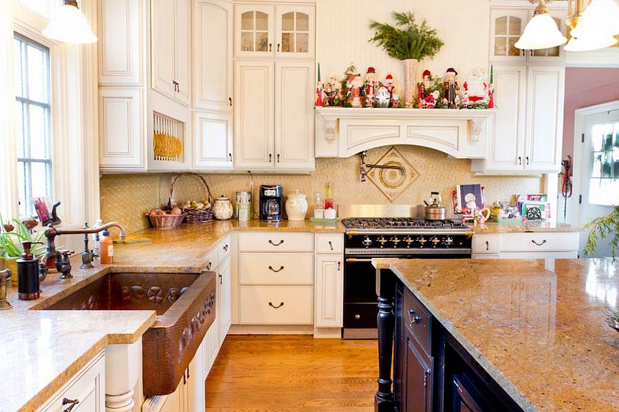 новогодний дизайн кухни
