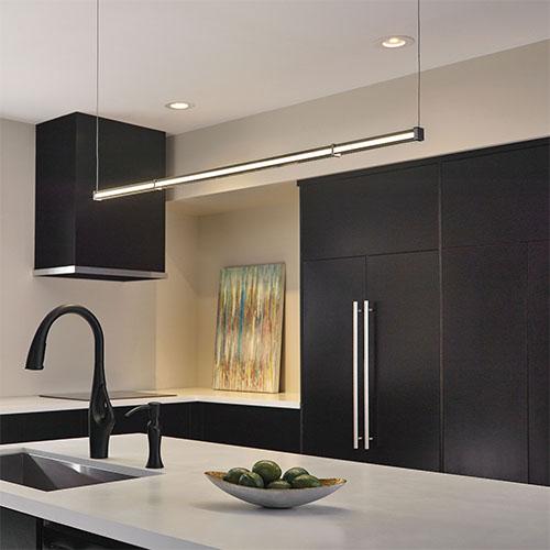 натяжные потолки на кухне фото дизайн