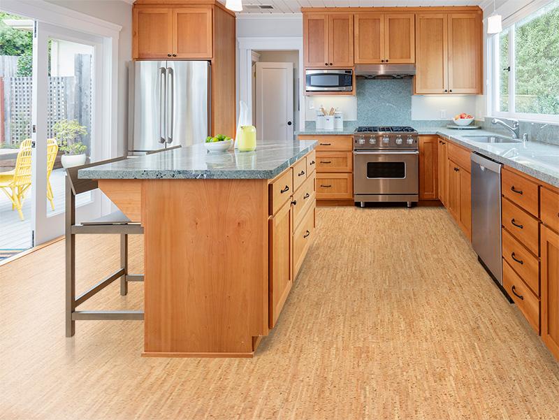 пол на кухне из чего лучше сделать