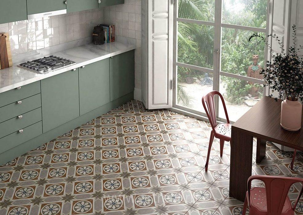 планировка квадратной кухни