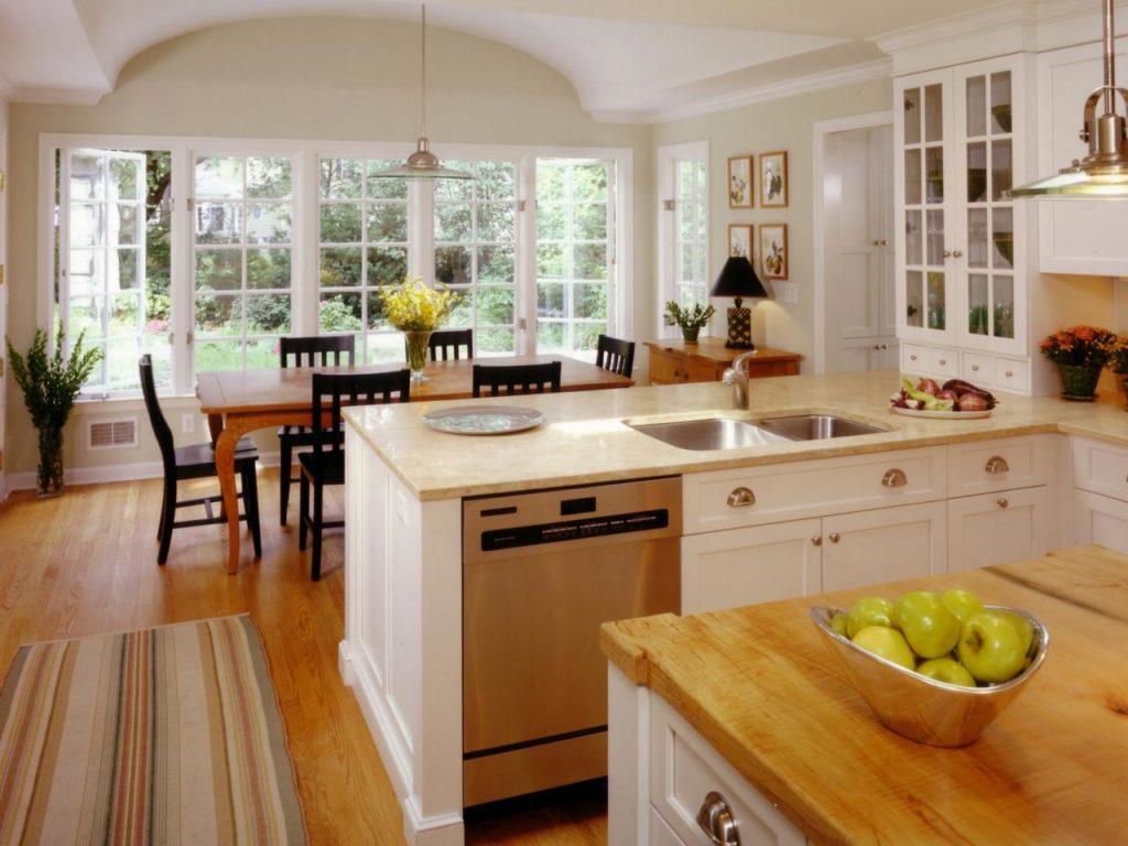 кухни классика светлые