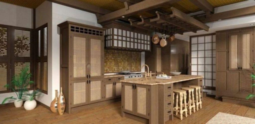 японский дизайн кухни