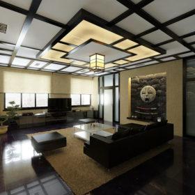 Кухня в японском стиле — яркий, компактный минимализм и высокие технологии (100 фото)