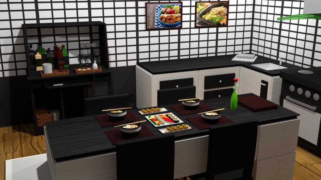 мебель в японском стиле фото