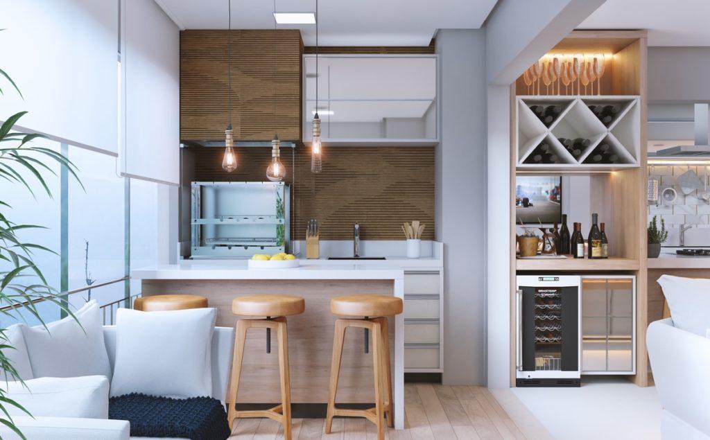 идеи для квадратной кухни