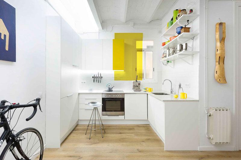 прямоугольные кухни дизайн фото