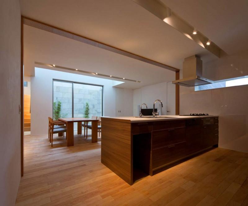 японский стиль в интерьере кухни