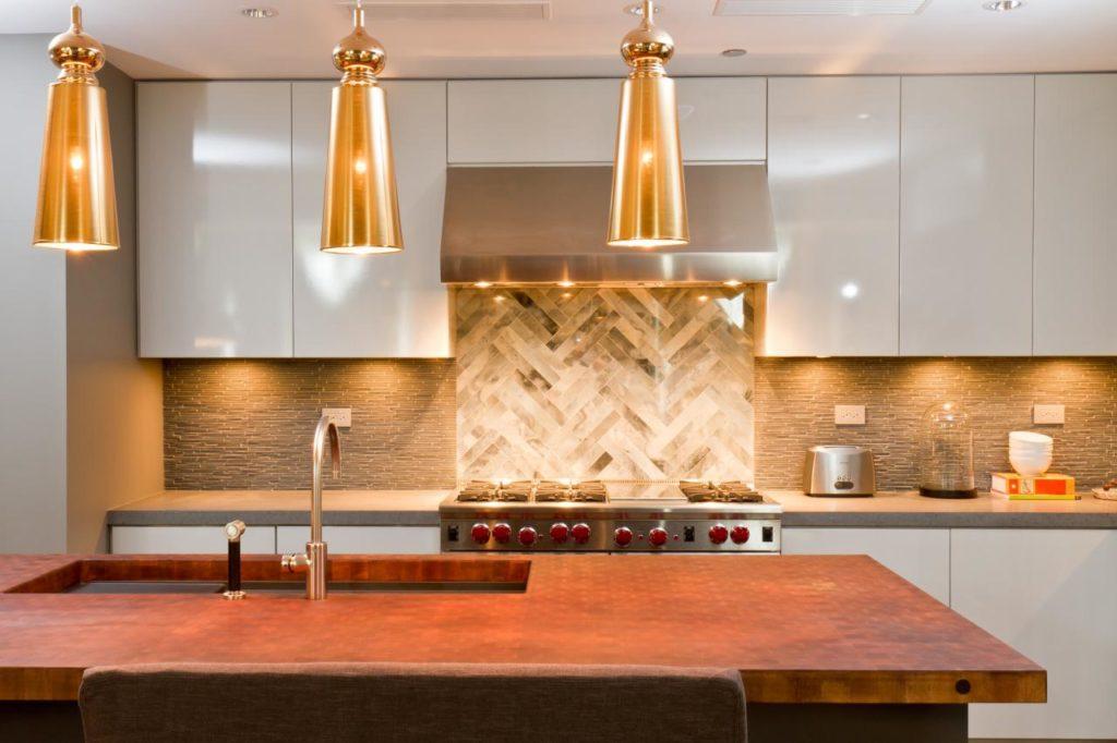 кухня в стиле модерн фото интерьер