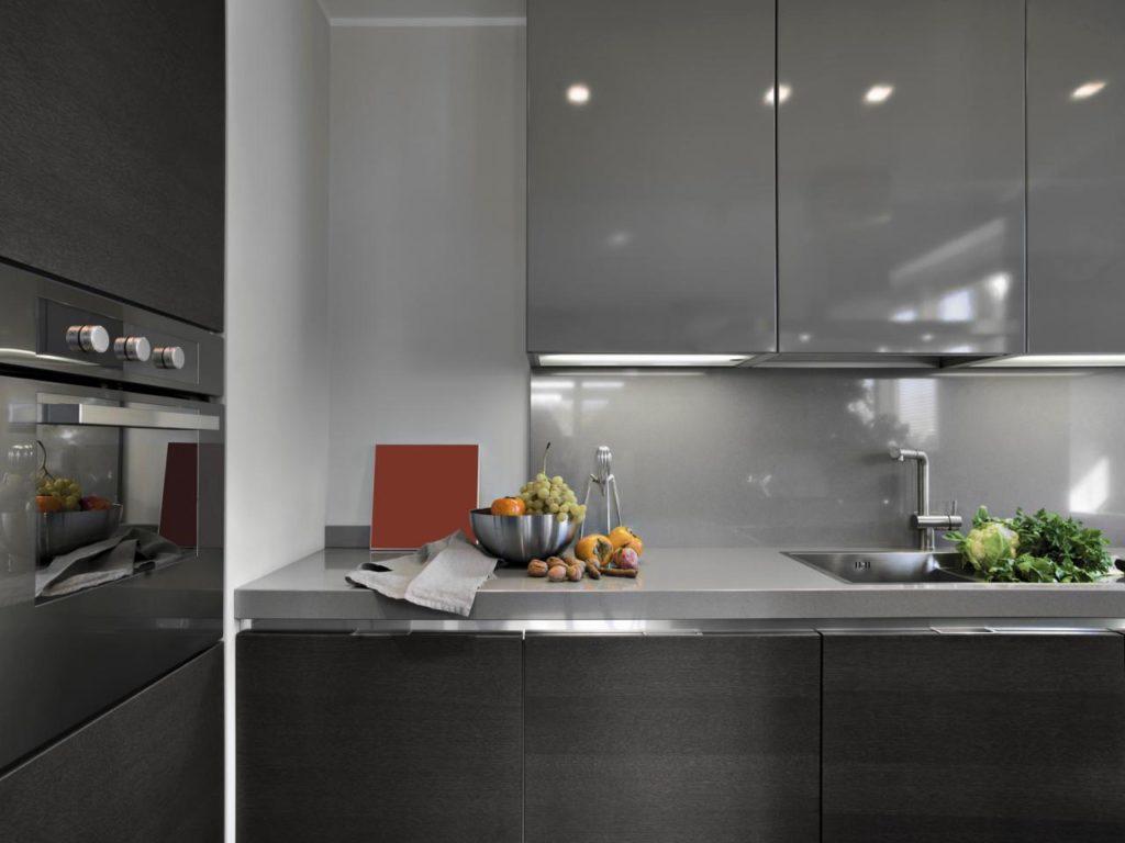 стиль модерн в интерьере кухни