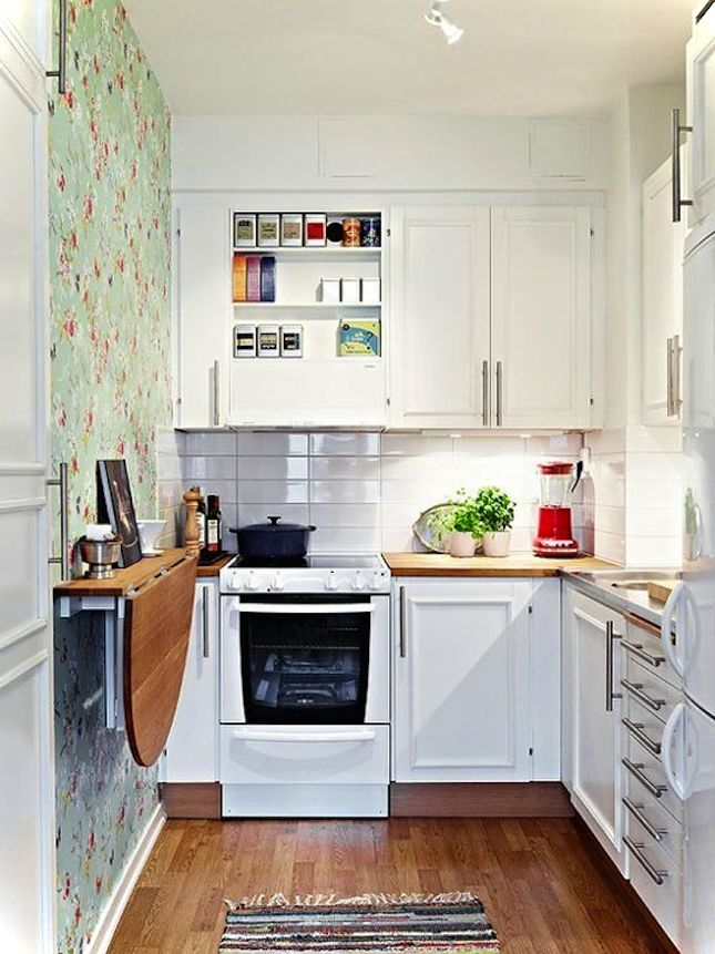 кухня 4 на 4 метра дизайн фото