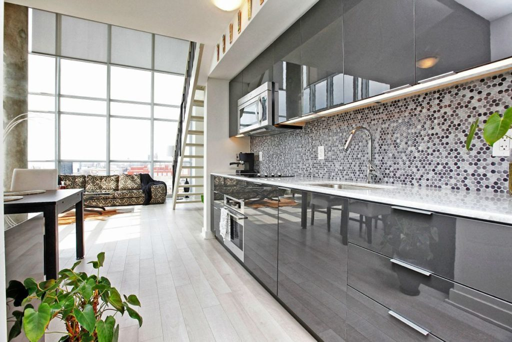 кухни глянцевые дизайн фото