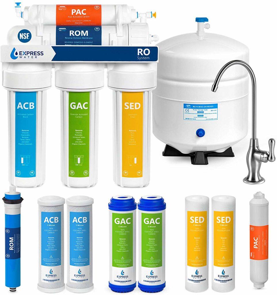 фильтры для воды в квартиру