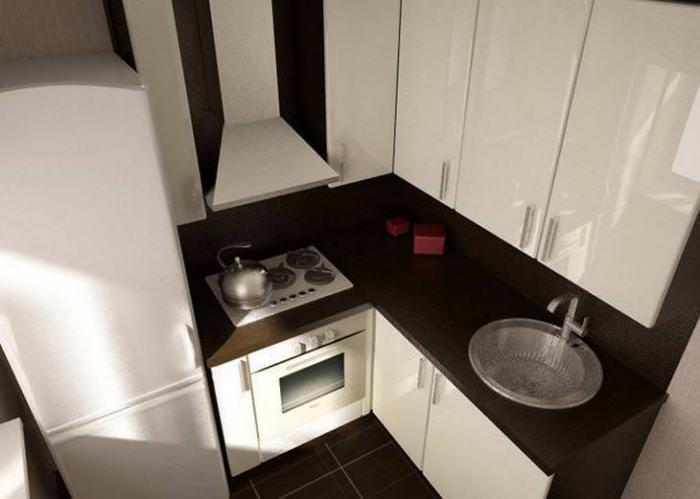 дизайн кухни 4 метра