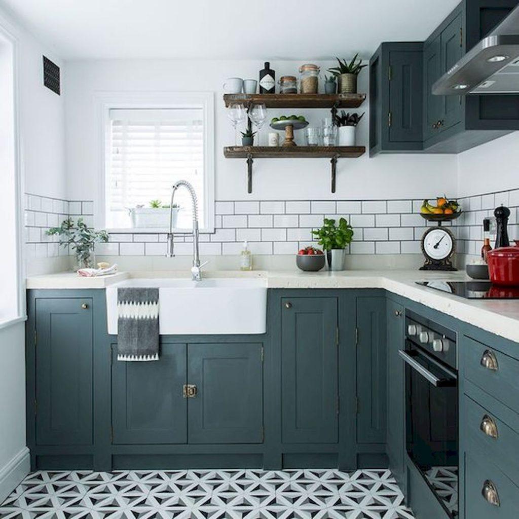 кухня 4 на 3 метра дизайн фото
