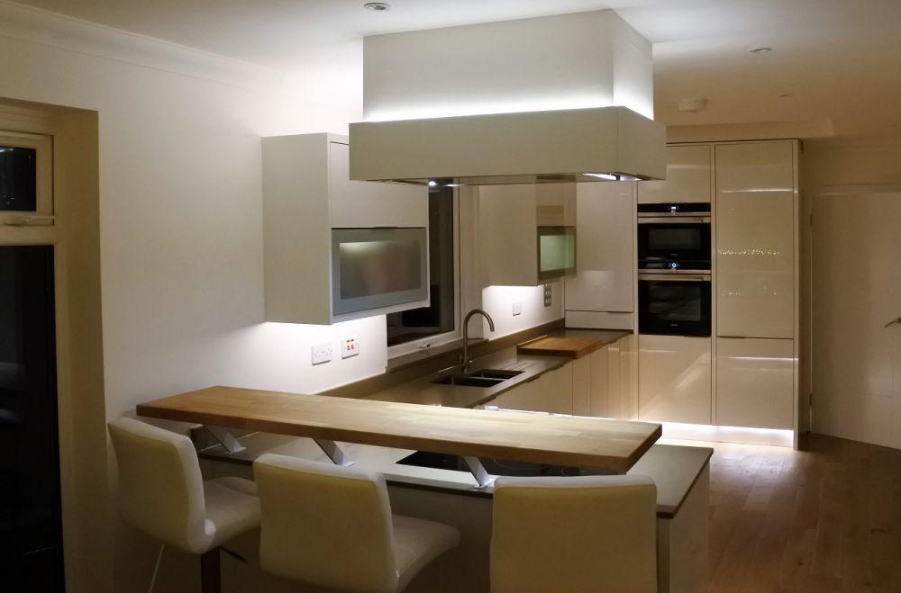 кухонный гарнитур матовый