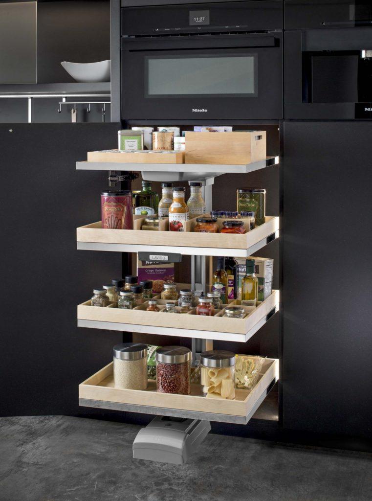этажерки для кухни