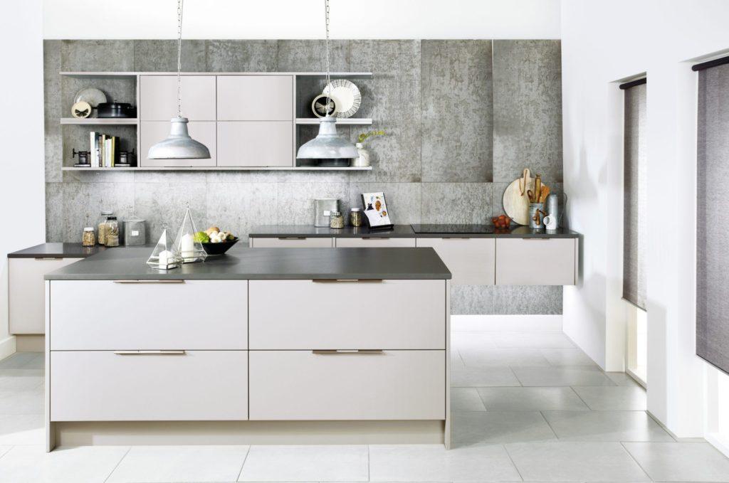 кухня матовая