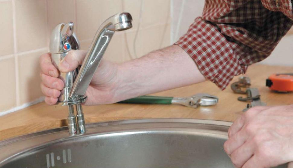 протекает кран на кухне как починить