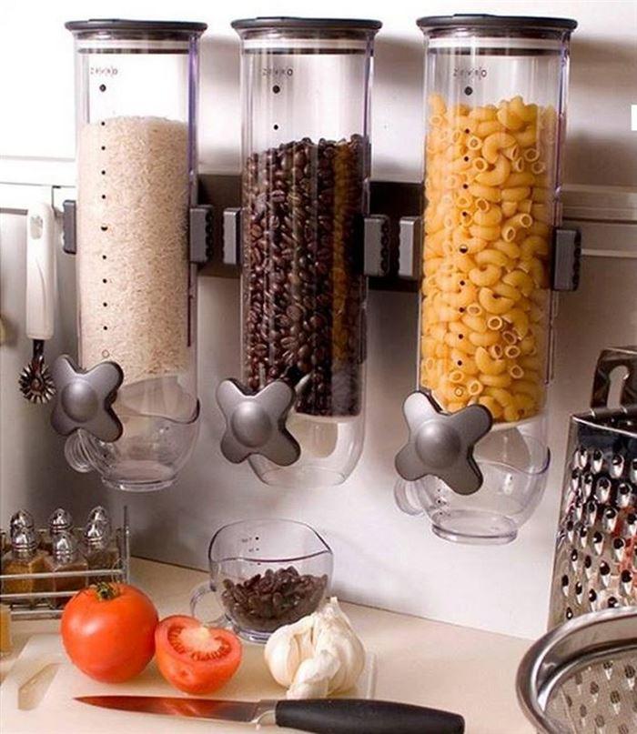 лайфхаки для кухни экономия места