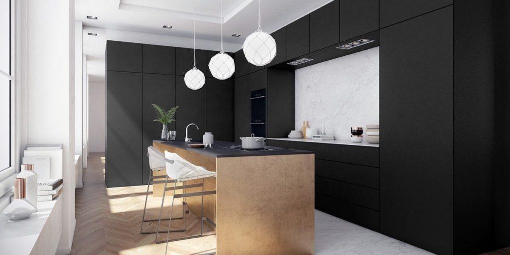 глянцевая или матовая кухня