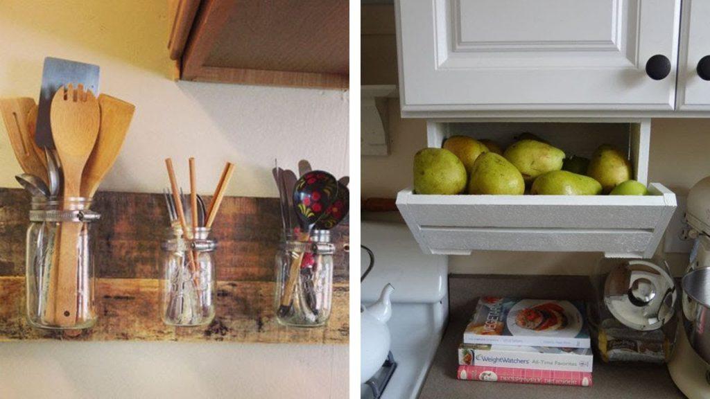хранение овощей на кухне