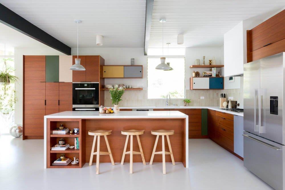 кухни модерн угловые