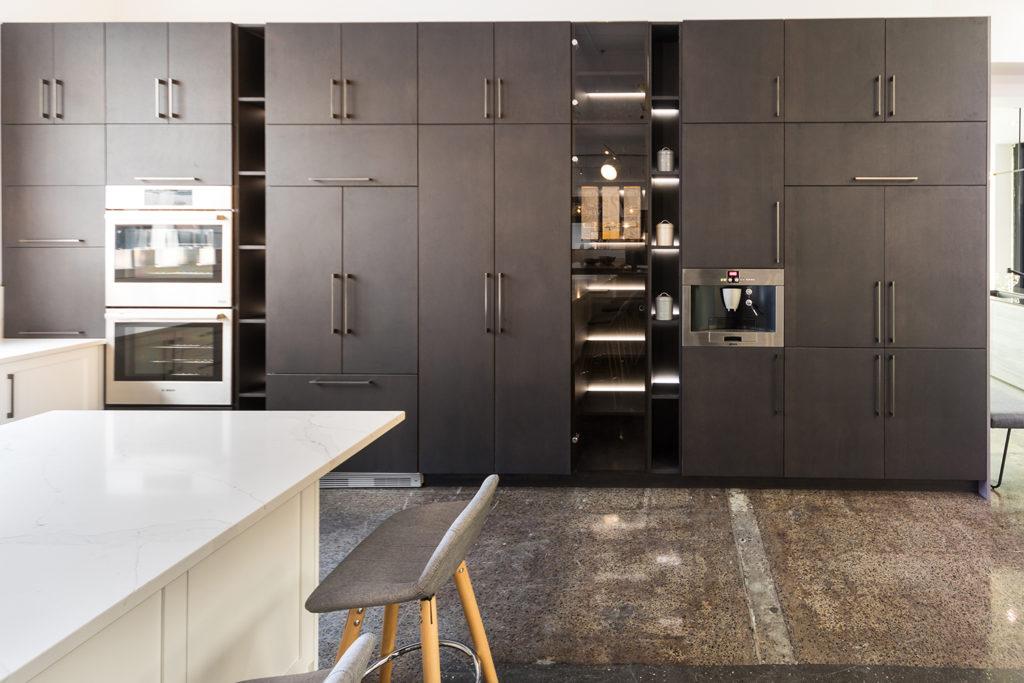 кухня в стиле модерн реальные фото