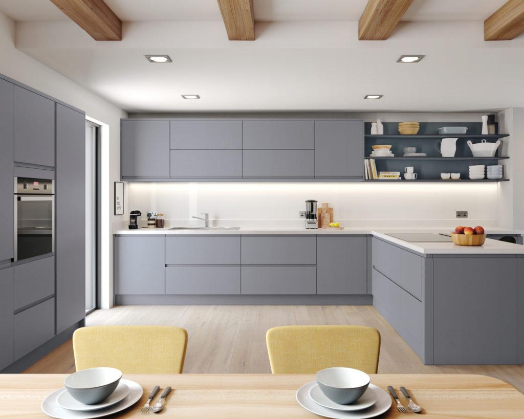 матовые фасады для кухни отзывы