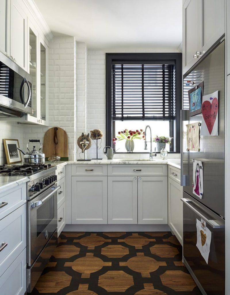 кухня 2 на 4 метра дизайн фото