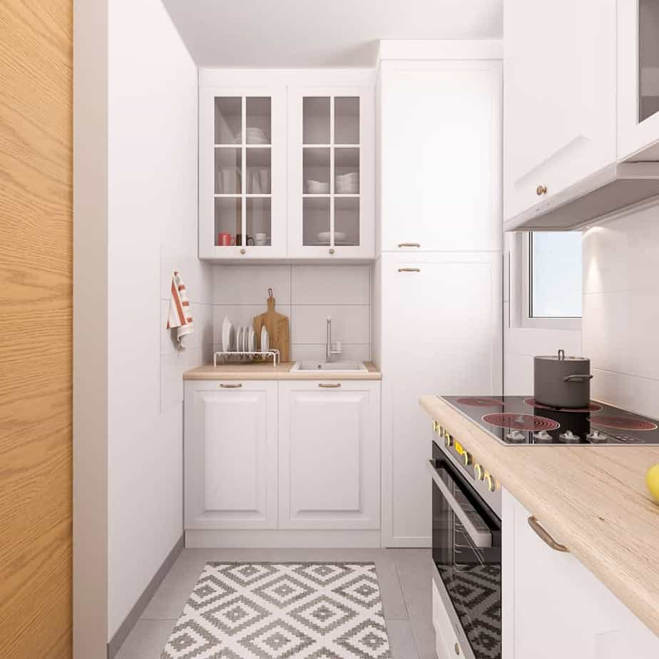 кухня 4 кв метра