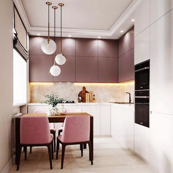 дизайн кухни 4 кв м фото