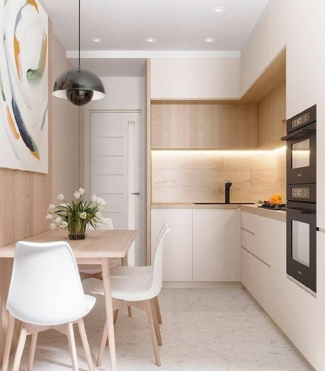 дизайн кухни 4 на 4