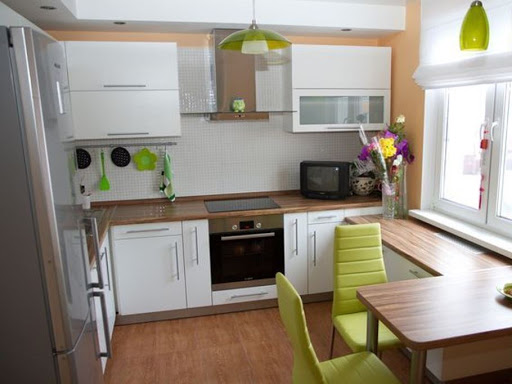 кухня 4 кв м дизайн