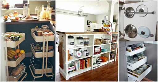 организация хранения на кухне