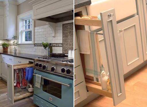 где хранить кухонные полотенца