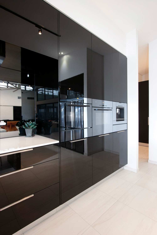 кухни цвета капучино глянец фото