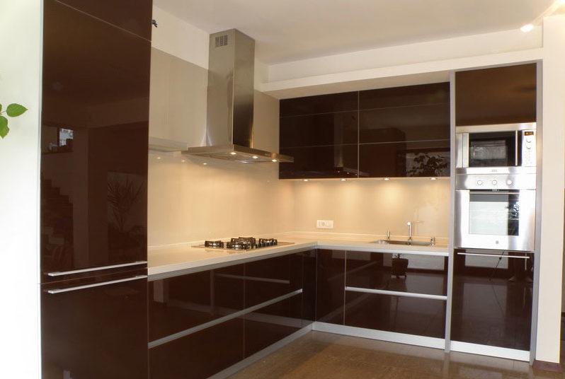 алюминиевые фасады для кухни