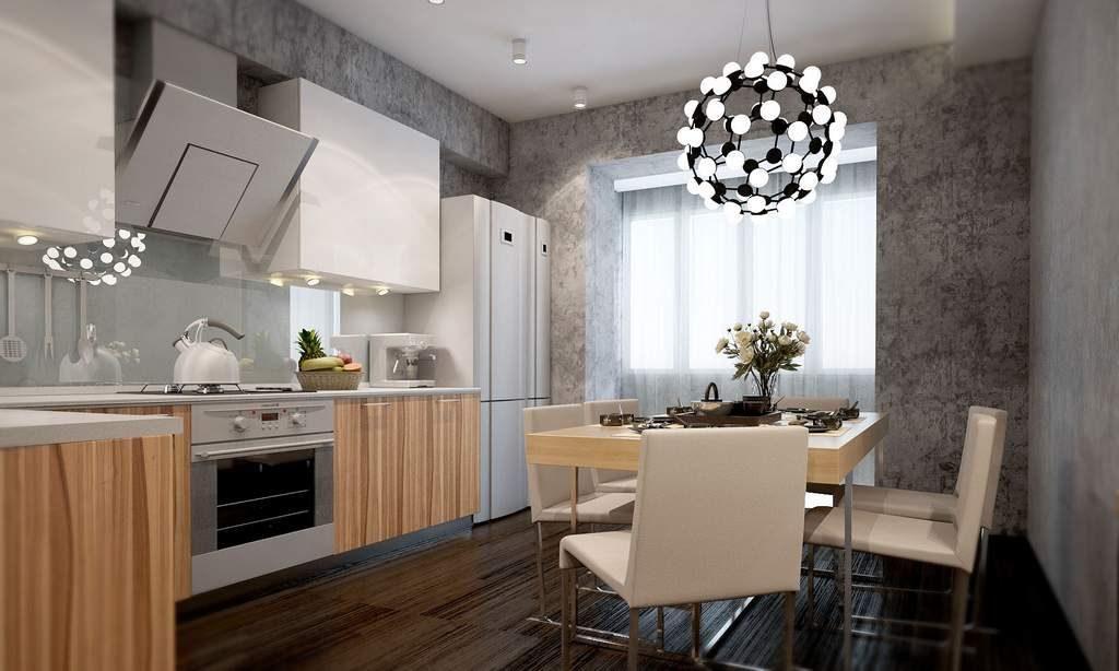 венецианская штукатурка фото в интерьере кухни