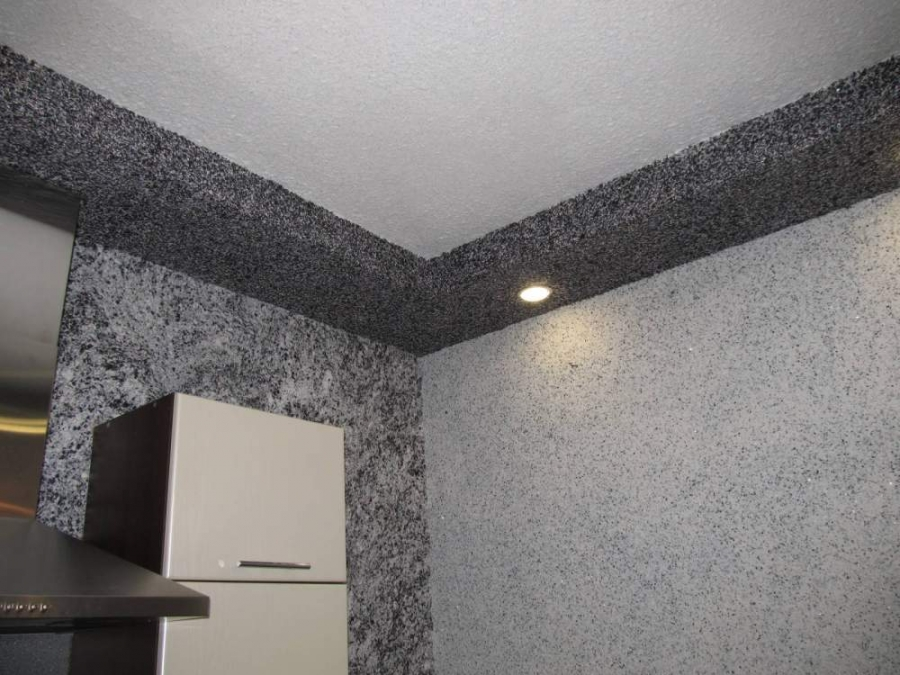штукатурка стен на кухне