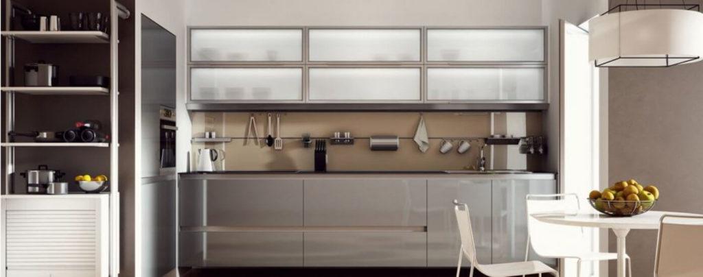 кухни пластик в алюминиевой рамке фото