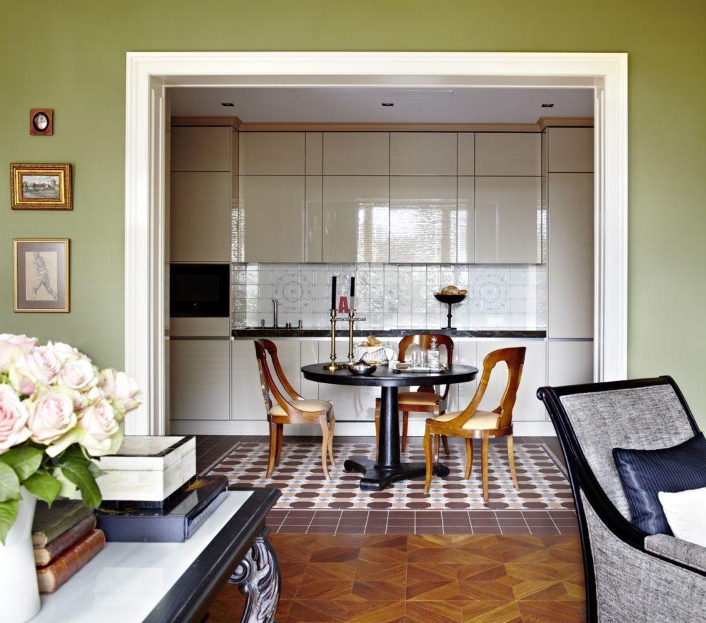 кухня без окон дизайн интерьера
