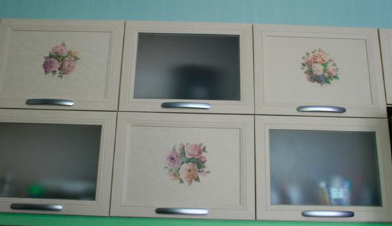замена фасадов кухни