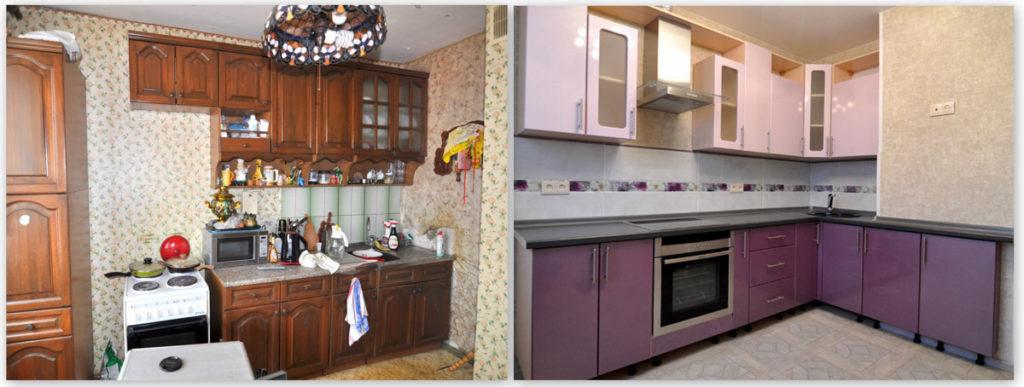 ремонт кухонного гарнитура