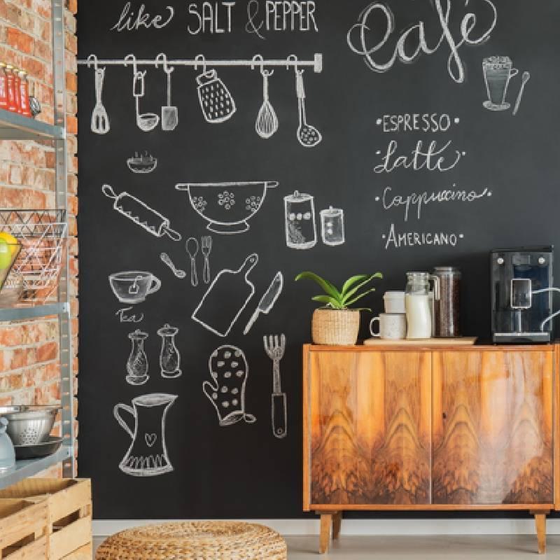 интересный дизайн кухни