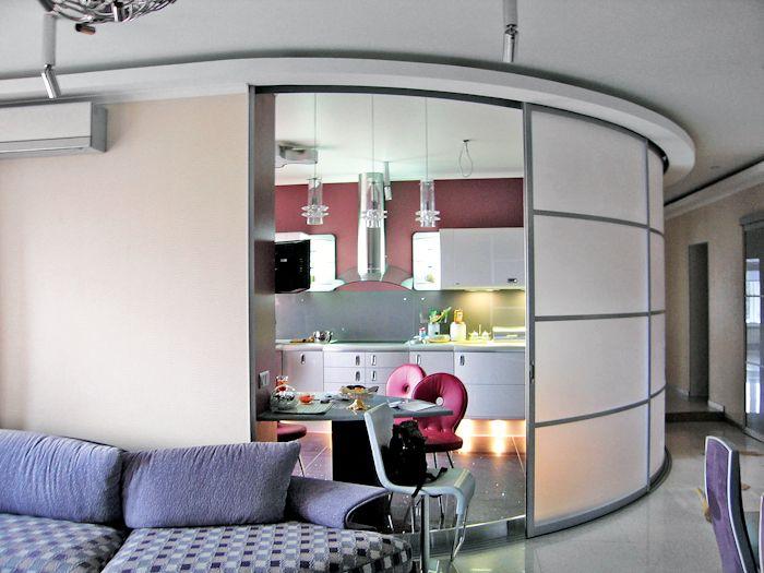 кухня без окна дизайн фото