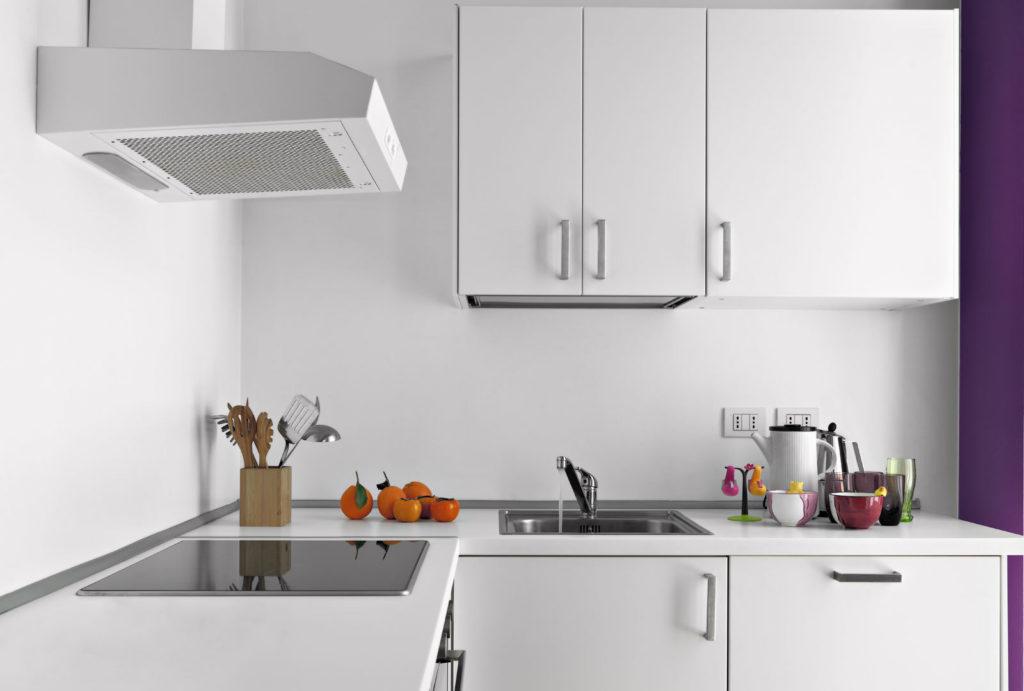дизайн кухни без окна малой площади