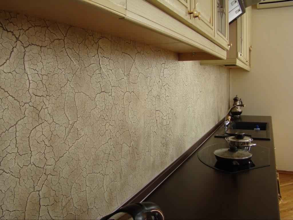 декоративная штукатурка для внутренней отделки на кухне
