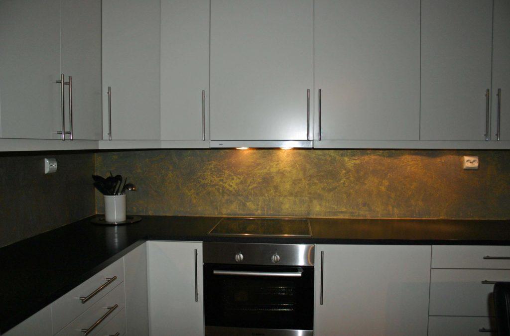 декоративная штукатурка на кухню