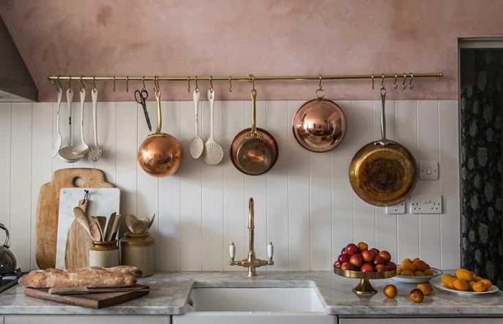 декоративная штукатурка в кухне